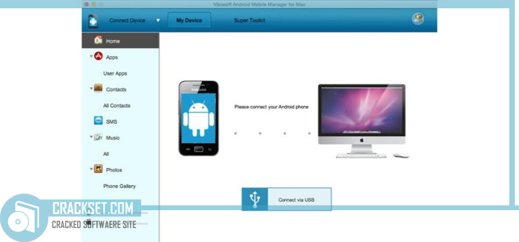 android-manager-mac-main-interface