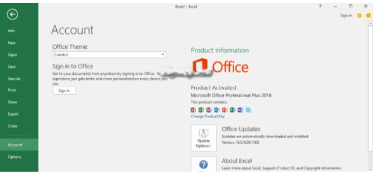 office 2016 key