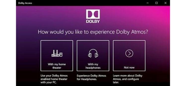 Dolby Access Key